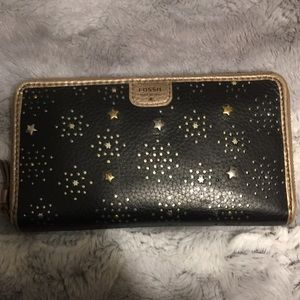 Starry fossil wallet